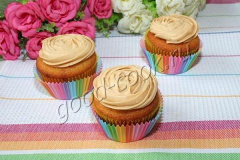 Ванильные кексы с малиновой …