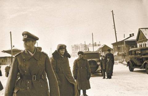 Немецкие офицеры, воевавшие на стороне Советского Союза