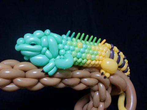 Скульптуры из воздушных шариков Масаёши Мацумото