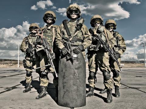 Гвардейцы Президента Путина: «Они умеют всё?!..»