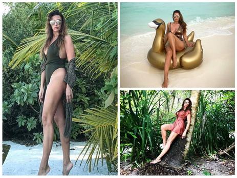 GulSara отдыхает на Мальдивс…