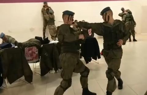 Рязанские десантники приняли…