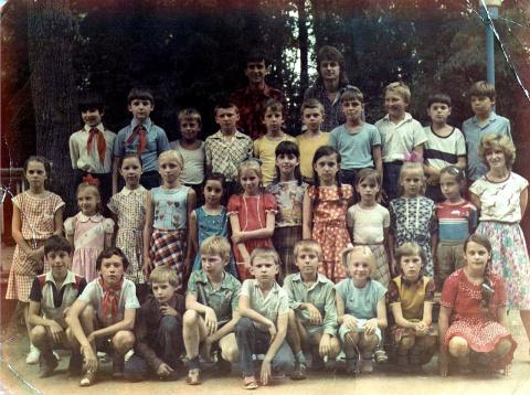 1988 Отряд 4 вожатые Шмиков и Прокофьева...