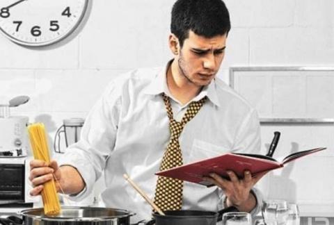 Как выглядит кухня глазами мужчины
