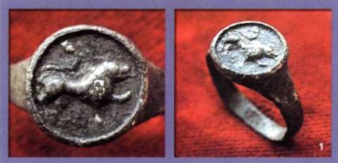 Символика средневековых русских перстней. Зверь - образ, зверь – символ, зверь – оберег