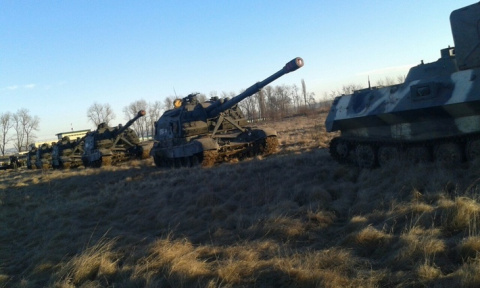 Партия самоходных гаубиц «Мста-С» поступила на вооружение Первой танковой армии
