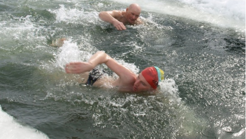 Карельские «моржи» победили на этапе Кубка мира по зимнему плаванию