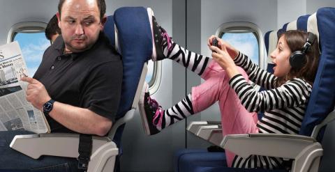 О детях в перелётах
