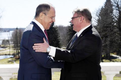 Министр иностранных дел Финляндии: всегда полезно встретиться с Dorogoy Sergey Lavrov!