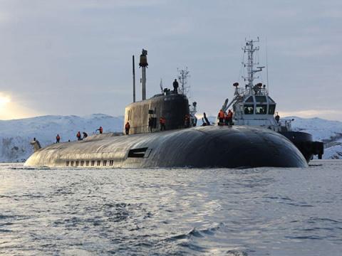 ВМФ получит самую большую атомную подлодку в мире