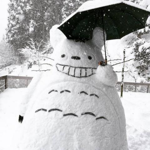 Японские снеговики (27 фото)
