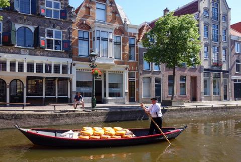 Алкмар и сырная ярмарка, Нидерланды