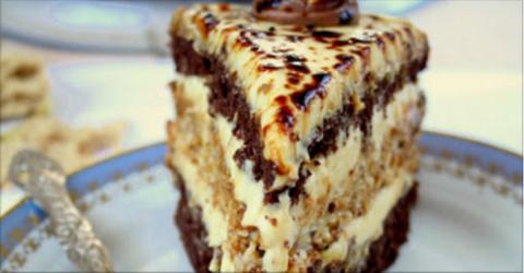Торт «Халва» — необычно и не…
