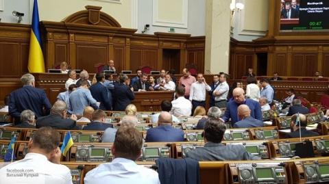 Патриоты захватили парламент…