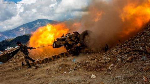Ни шагу назад: бойцы Асада с…