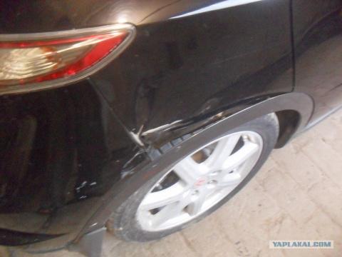 Кузовной ремонт. Наплавка оловом