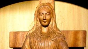 Японская деревянная статуэтк…