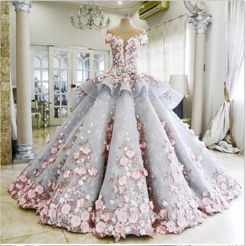 фантастическое свадебное платье которое скрывает секрет