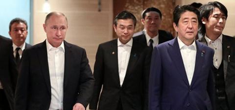 Япония хочет «оторвать» Россию от Китая