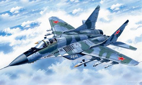 Видео вертикального взлета МиГ-29