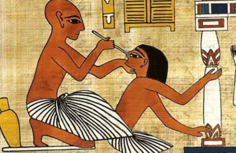 Этот документ не мог быть порождён человеческим разумом.Тайны древней медицины.