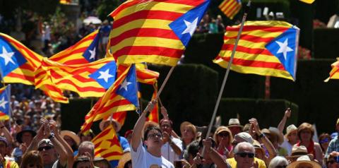В Каталонии начались стычки …