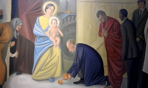В Витебском костеле появилис…