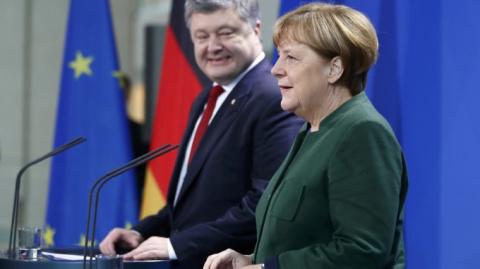 Немцы бьют в спину Pedro Порошенко