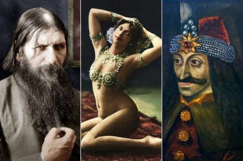От Трансильвании до России. 8 самых загадочных людей в истории