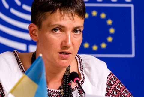 """Савченко предлагает союз Украины с """"сильной Россией"""""""