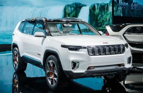 Jeep Yuntu - гибридный кроссовер для Китая