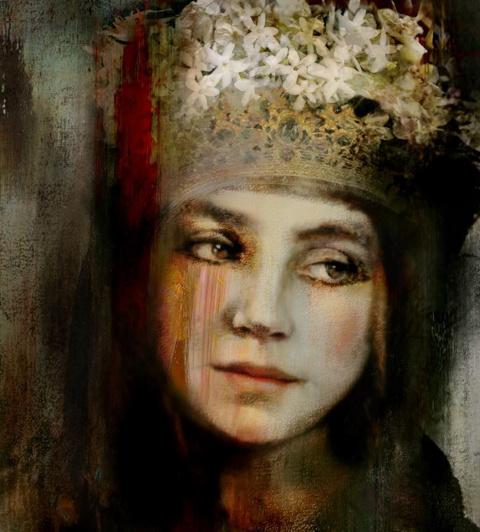 Женские лица. Suhair Sibai