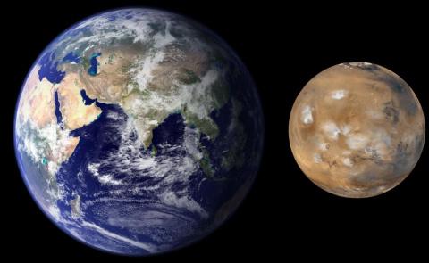 Марс — наш!