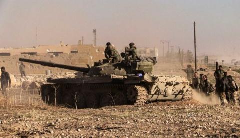 Террор и хаос в Аль-Маядине:…