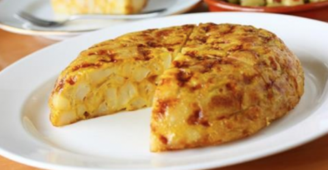 Тортилья с картофелем и луко…