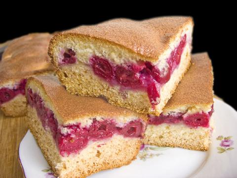 ДЕСЕРТНЫЙ ВИХРЬ. Пирог с вишней