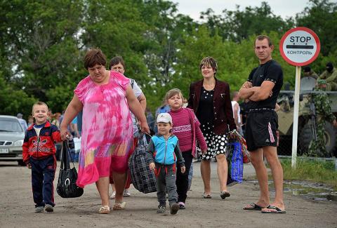 Украинские беженцы, почему н…