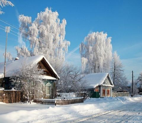 Зимний   сонет