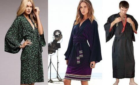 Стильный халат - кимоно свои…