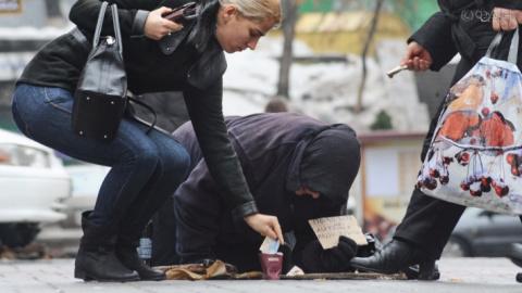 Обнищание населения на Украи…