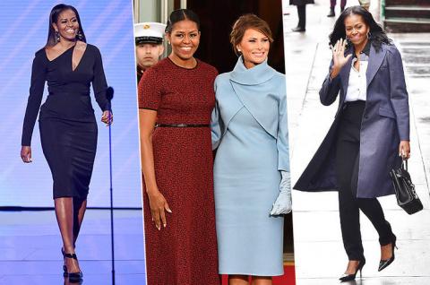 Больше не первая леди — как одевается Мишель Обама в новом статусе