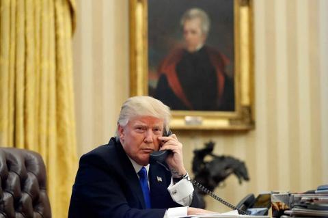 Трамп доволен переговорами с…