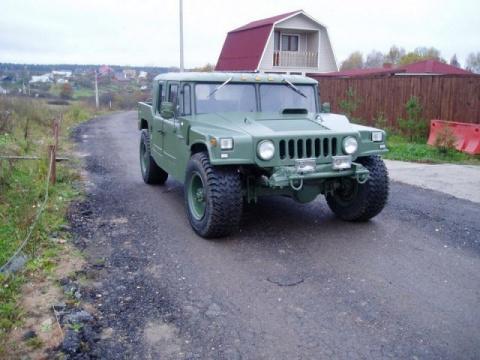 Перевоплощение ГАЗ-66 в Хаммер
