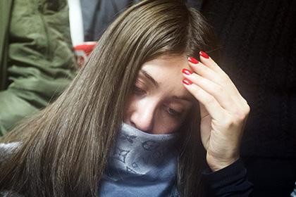 Стритрейсершу Багдасарян в зале суда отчитал отец