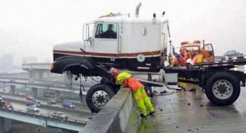 Крутые аварии больших автомобилей (Подборка)