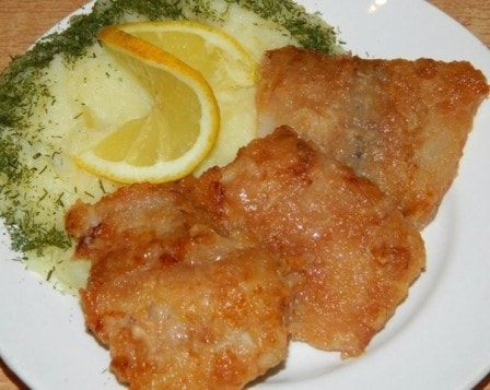 "Рыбка ""Ароматная"" (рецепт с фото)"