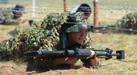 Суровые китайские снайперы