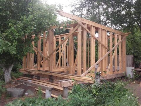 Строим домик у Березы. Этап …