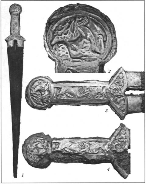 Скифский меч из царского кургана Толстая Могила