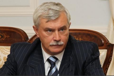 Петербургский губернатор пот…